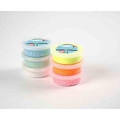 Foam Clay Glitter Pack of 6 x 14g