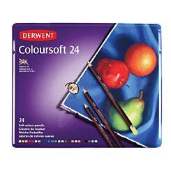 Derwent Coloursoft Pencils Set of 24