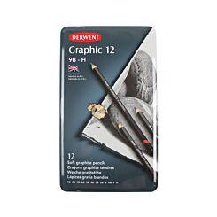Derwent Graphic Soft Set of 12 Pencils