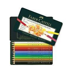 Faber Castell Polychromos Colour Pencils Set of 12