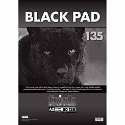 Frisk Black Paper Pad A3