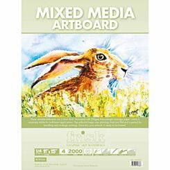 Frisk Mixed Media Artboards Pack of 4