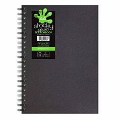 Stocky Gecko Hardback Sketchbook A4
