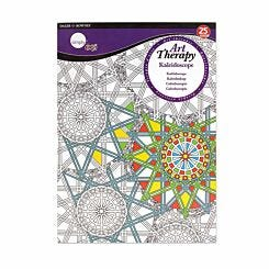 Daler Rowney Art Therapy Colouring Book Kaleidoscope A4