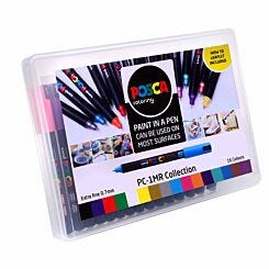 uni POSCA PC-1MR Marker Pens Pack of 16