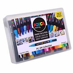 uni POSCA PC-3M Marker Pens Collection Box Pack of 40
