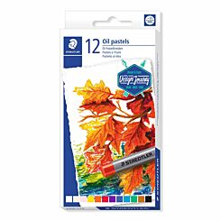 Staedtler Oil Pastels Assorted Colours Pack of 12