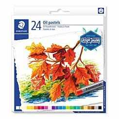 Staedtler Oil Pastels Assorted Colours Pack of 24