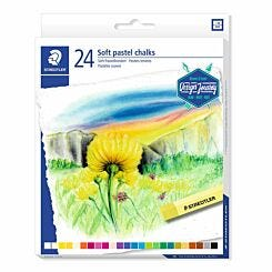 Staedtler Soft Pastels Assorted Colours Pack of 24