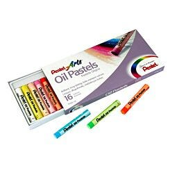 Pentel Oil Pastels 16 Piece Set