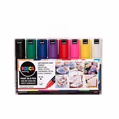 Posca PC-7M Marker Pens Starter Pack of 8