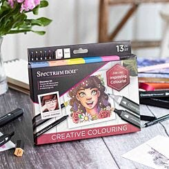 Spectrum Noir Discovery 13 Piece Set Creative Colouring