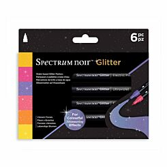 Spectrum Noir Glitter Marker Vibrant Florals Pack of 6