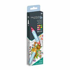 Spectrum Noir Tri-Colour Aqua Markers Floral Meadow
