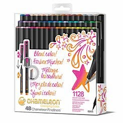 Chameleon Fineliners Changing Colour Pen Set of 48