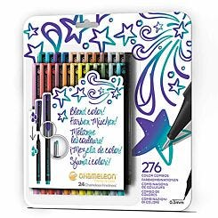 Chameleon Fineliners Bold Colours Set of 24
