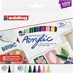 Edding Start Easy Acrylic Paint Marker Set 8S