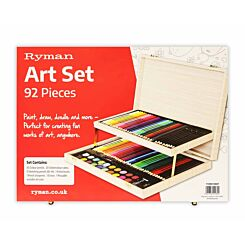 Ryman Art Set 92 Piece