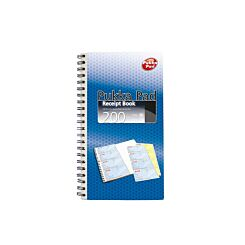 Pukka Carbonless Receipt Book 400 Pages 200 sheets