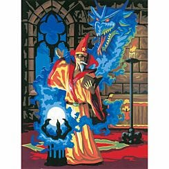 Junior Painting By Numbers Sorcerer