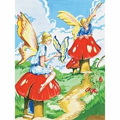 Junior Painting By Numbers Flower Fairies