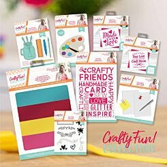 Crafters Companion Crafty Fun Stationery Design Collection