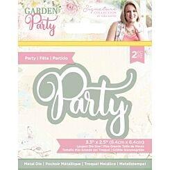 Garden Party Party Metal Die