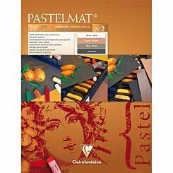 Clairefontaine Pastelmat Pad No 2 18x24cm