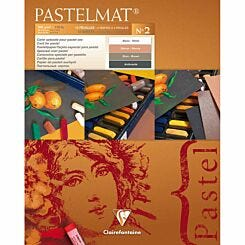Clairefontaine Pastelmat Pad No 2 24x30cm