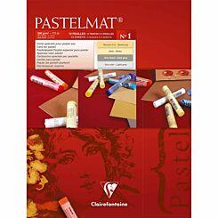 Clairefontaine Pastelmat Pad No 1 18x24cm