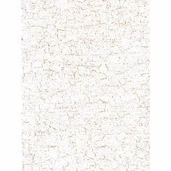 Decopatch White Gold Crackle Paper Pack of 3 Sheets
