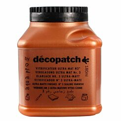 Decopatch Mat Varnish 180ml
