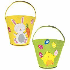 Easter Large Felt Bucket