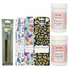 First Edition Deco Mache Kit