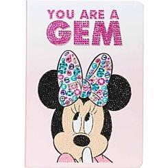 Classic Minnie Crystal Art Notebook 26x18