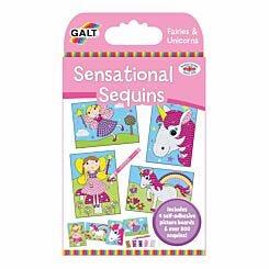 Galt Toys Sensational Sequins Fairies and Unicorns Kit