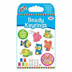 Galt Toys Beady Keyrings Kit