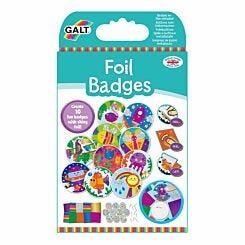 Galt Toys Foil Badge Making Kit