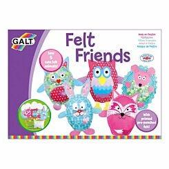 Galt Toys Felt Friends Kit