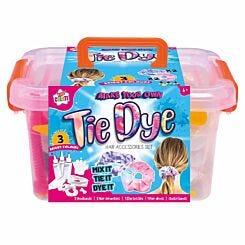 Kids Create Tie Dye Hair Accessory Set
