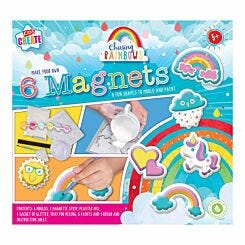 Kids Create Paint and Mould Rainbow Magnets Kit