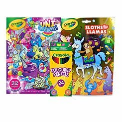 Crayola Sloths Llamas and Unicreatures Bundle