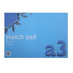 Ryman Sketch Pad A3 Pack of 6 White