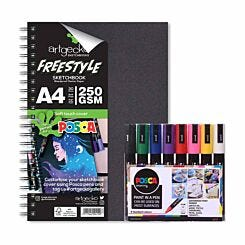 Artgecko Freestyle POSCA Bundle