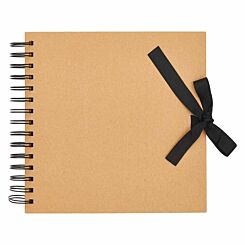 All Purpose Scrapbook with Ribbon Tie 12x12 Inch