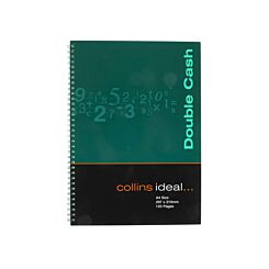 Collins Ideal Account Book A4 Double Cash 120 Pages 60 Sheets
