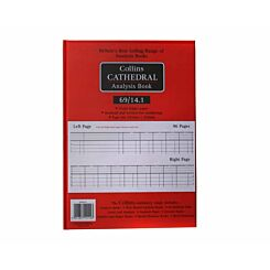 Collins Account Book A4 14 Column 96 Pages 48 Sheets