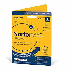 Norton 360 Deluxe - 1 User 5 Device
