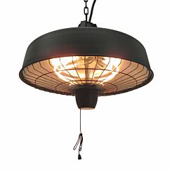 Outsunny Hanging Infrared Halogen Light Heater 2.5KW