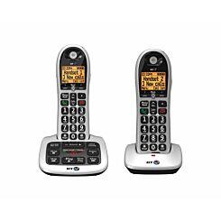 BT 4600 Big Button Cordless Phone Twin Handset
